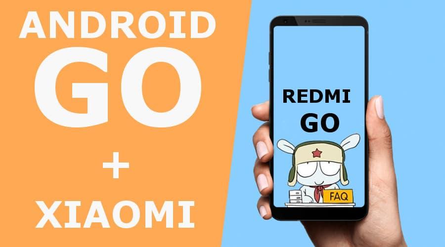 Redmi Go на Android GO