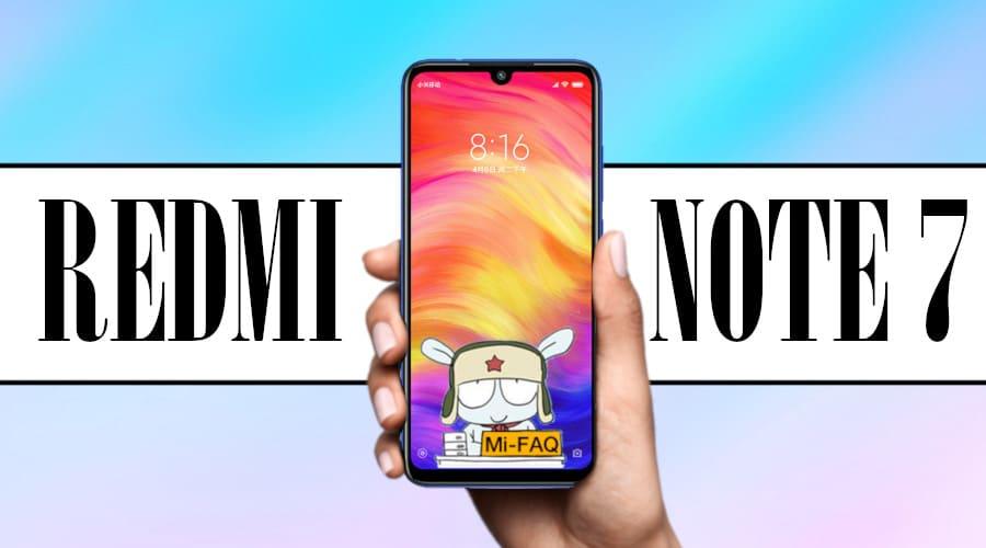 Полный обзор Xiaomi Redmi Note 7