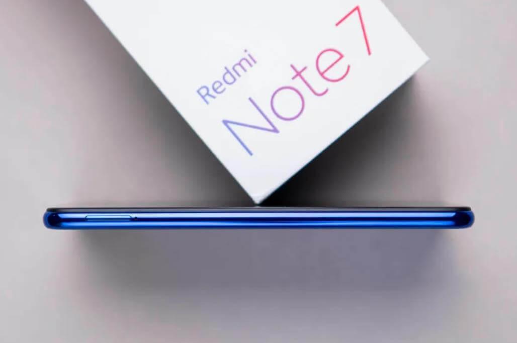 Xiaomi Redmi Note 7 корпус