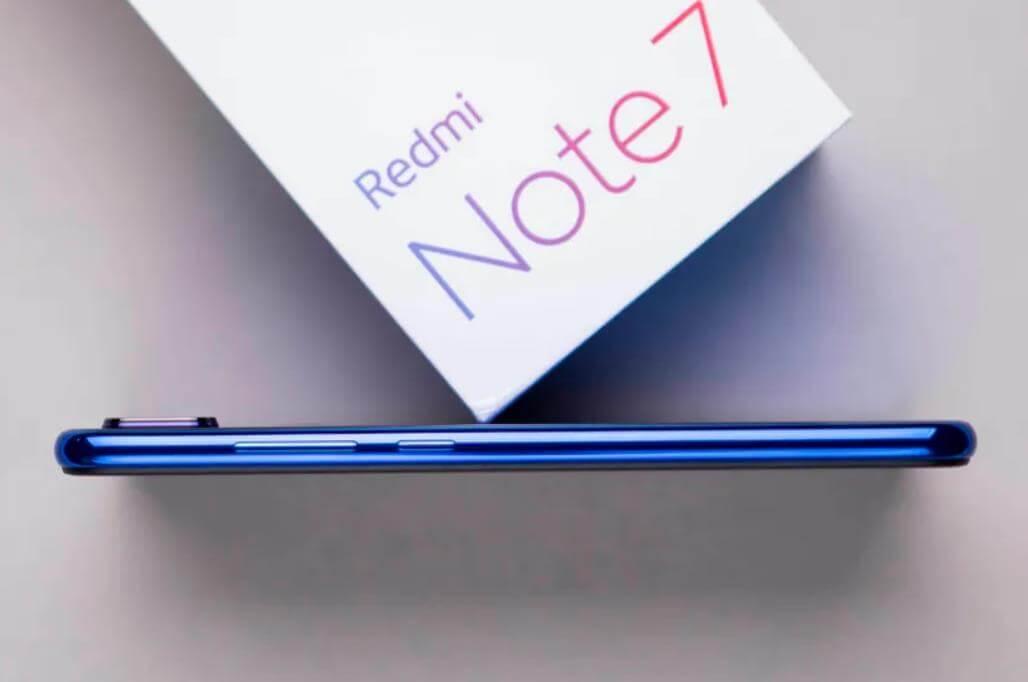 Xiaomi Redmi Note 7 внешний вид