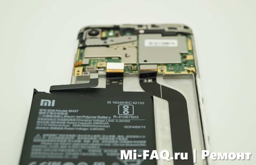 Замена дисплея Xiaomi Redmi 6A
