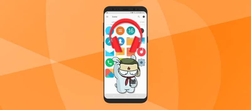 Как убрать значок наушников на телефоне Xiaomi