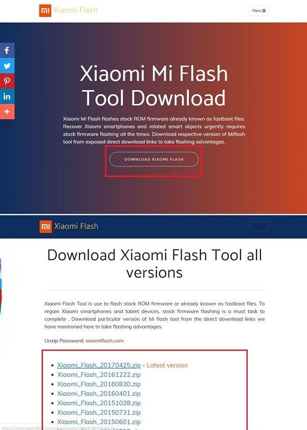 Прошивка Xiaomi через EDL