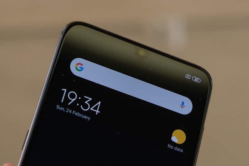 Xiaomi Mi 9 Фронтальная камера