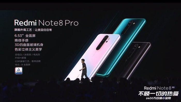 Анонс Xiaomi Redmi Note 8 Pro
