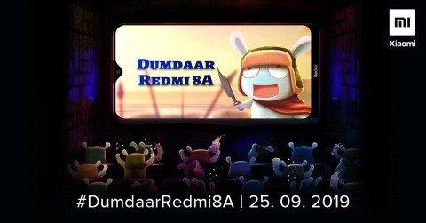 Дата презентации Redmi 8A