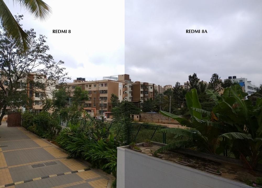 Сравнение камер Redmi 8 и Redmi 8A