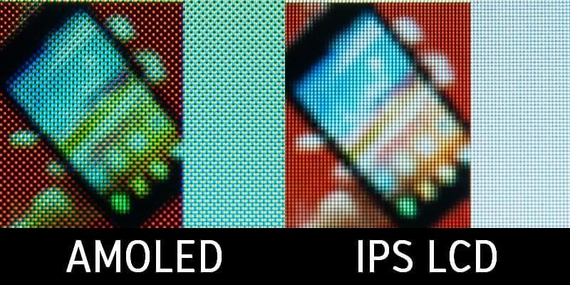 AMOLED против IPS