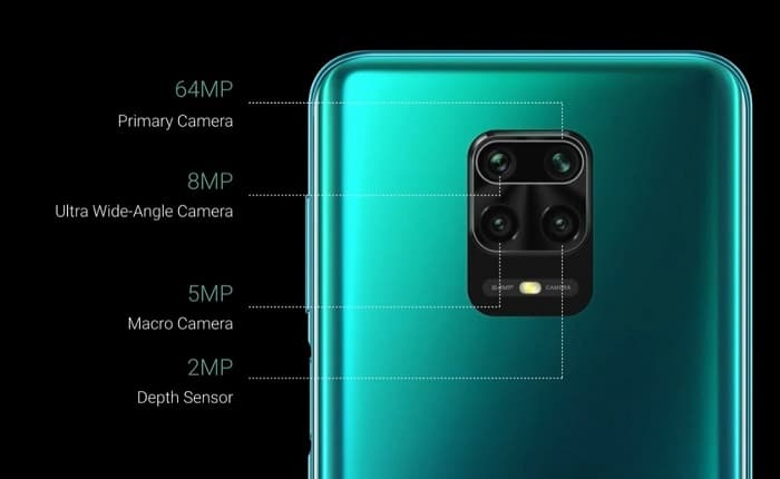 Камера Redmi Note 9 Pro Max