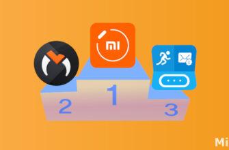 Лучшие приложения для Xiaomi Mi Band 5